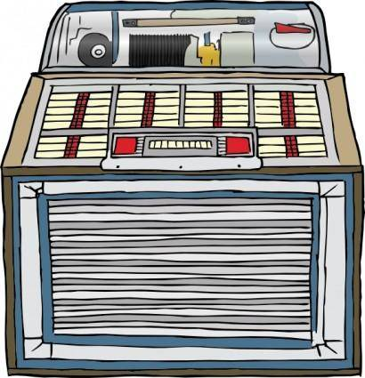free vector Jukebox clip art
