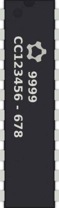 Generic Pin Ic clip art