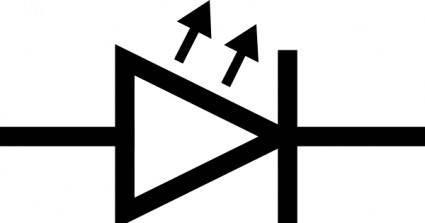 Led Symbol clip art
