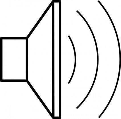 free vector Loud Speaker clip art