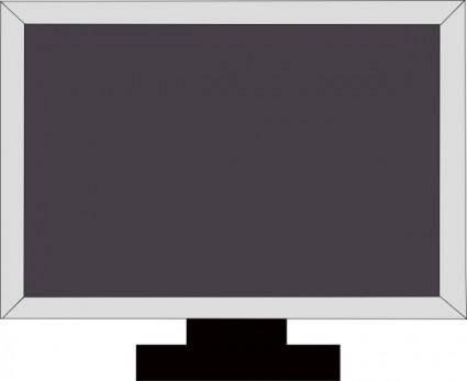 free vector Tv Lcd Hdtv clip art