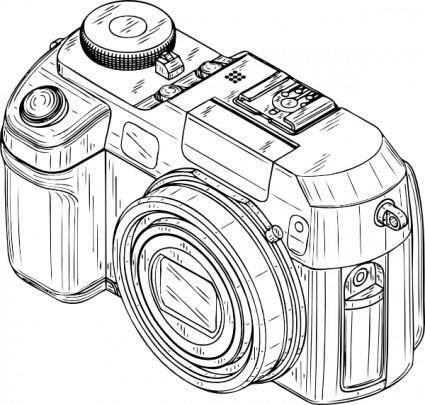 Digital Camera clip art 116315