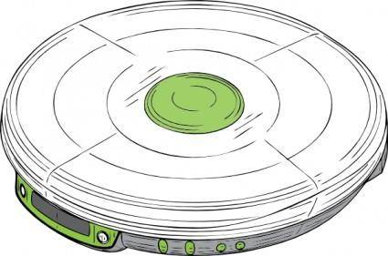free vector Cd Walkman clip art