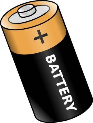 Battery clip art