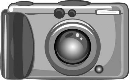 free vector Digital Camera clip art