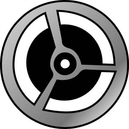 free vector Cinema Film Wheel clip art