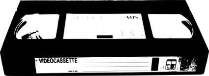 free vector Video Cassette Vhs clip art