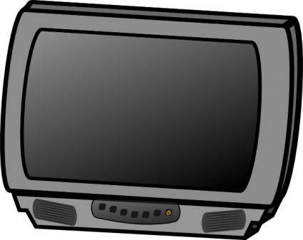Small Flat Panel Lcd Television clip art