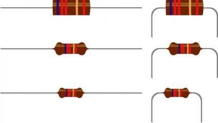 Resistors clip art