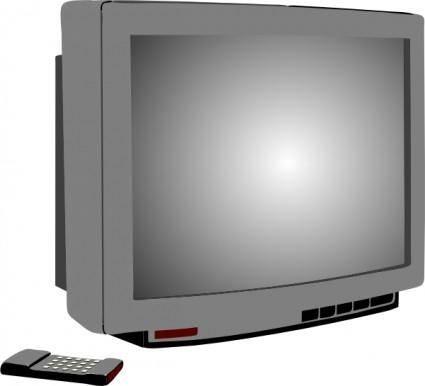 Television clip art