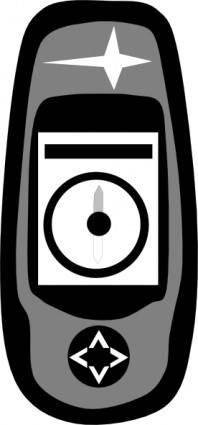 Magelan Handheld Gps clip art