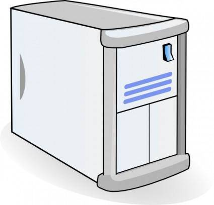 free vector Small Case Web Mail Server clip art