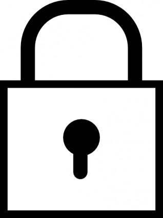 free vector Lock clip art