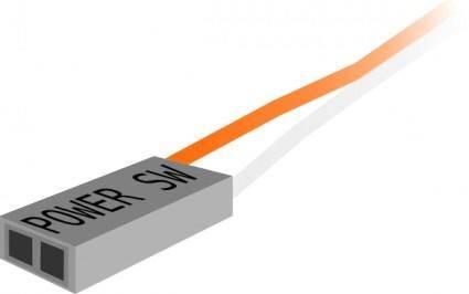 free vector Power Switch Plug clip art