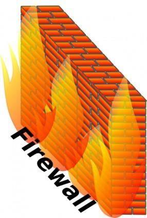 Firewall clip art