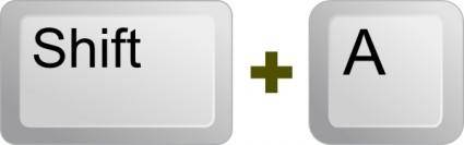 free vector Keyboard Key clip art