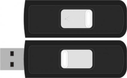 Sandisk Cruzer Micro clip art