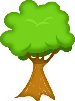 Soft Trees clip art