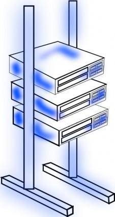Server S Frame clip art