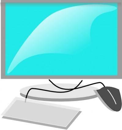 free vector Computer Terminal clip art