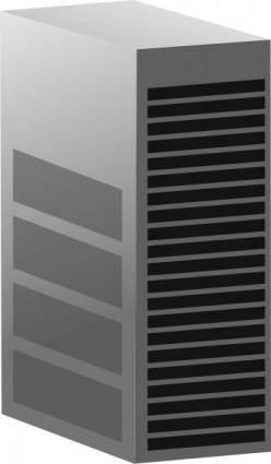 Server Big Tower clip art
