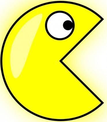 free vector Pacman clip art