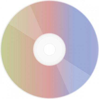 free vector Rainbow Disc clip art