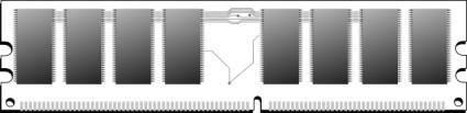 free vector Memory Ram clip art