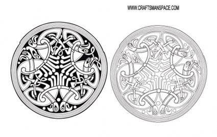 free vector Celtic ornament