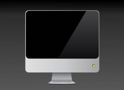 free vector Lcd Screen clip art