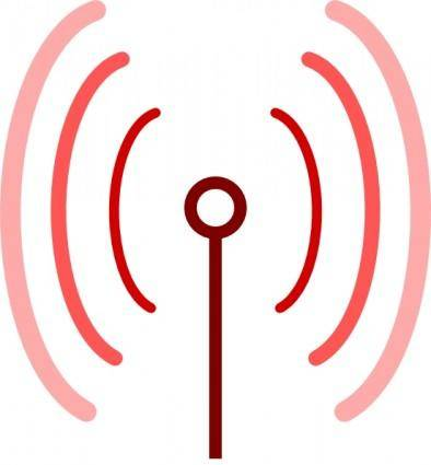 free vector Omnidirectional Antenna clip art