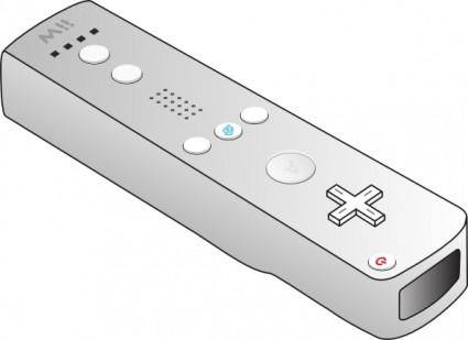 free vector Wii Remote clip art