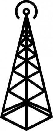 free vector Antenna Tower clip art