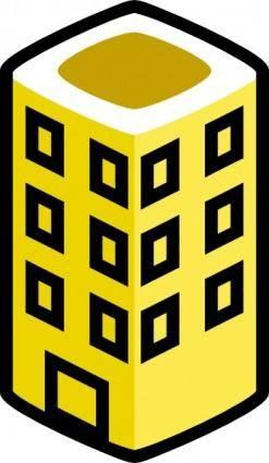 free vector Jcartier Building clip art