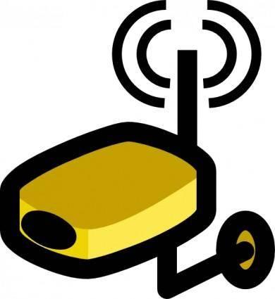 Jcartier Wireless Video Camera clip art