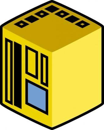 Jcartier Central Computer clip art