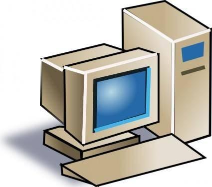 Personal Computer clip art