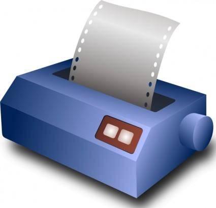 Matrix Printer clip art