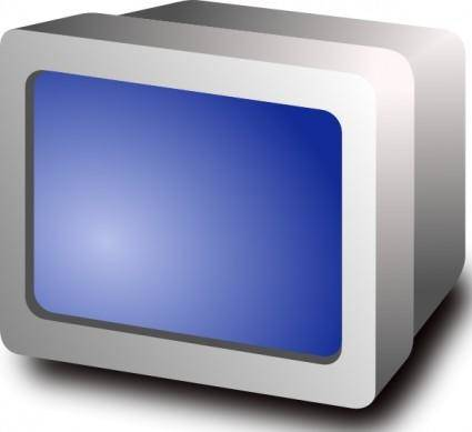 Crt Display clip art