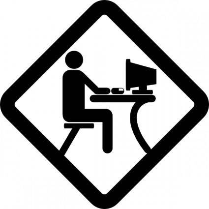 Lan Party Pictogram clip art