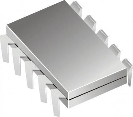 Microchip clip art