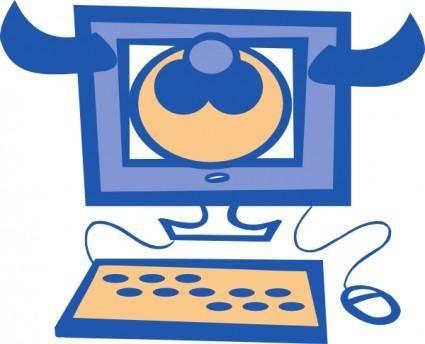 Frankiechow Cow Computer clip art