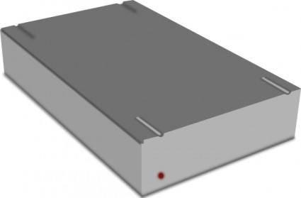 free vector External Hard Drive clip art