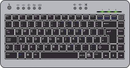 free vector Compact Computer Keyboard clip art