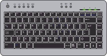 free vector Compact Keyboard clip art