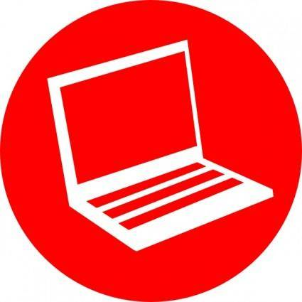 Laptop Icon clip art