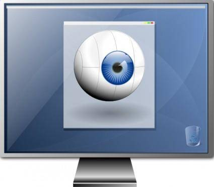 free vector Monitor clip art