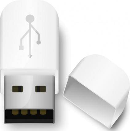Usb Flash Drive clip art