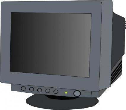 Monitor Crt clip art