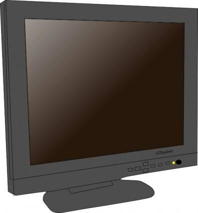 free vector Monitor Lcd clip art